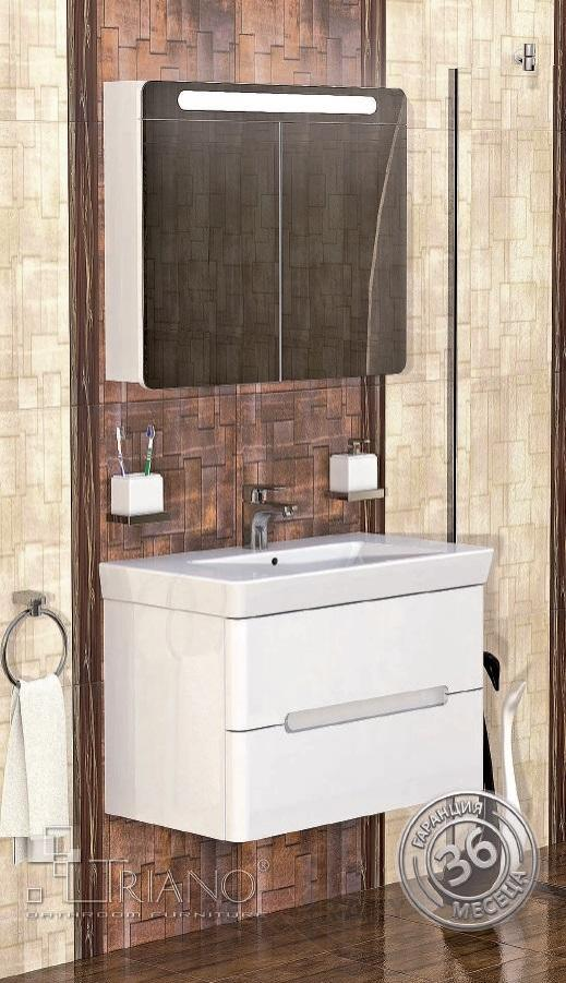 PVC шкаф за баня Монако 80см.