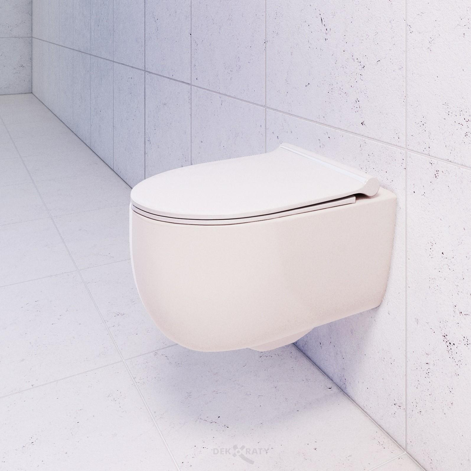 Конзолна тоалетна чиния Bocchi V- Tondo Rimless