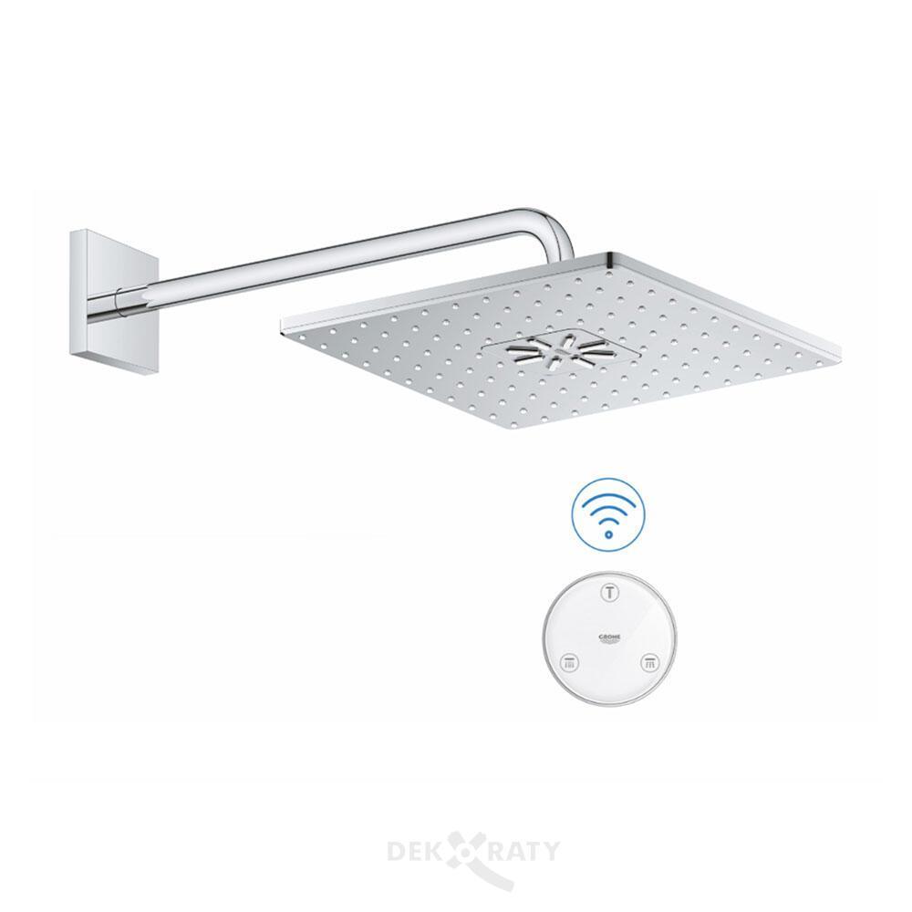 Grohe 26642000 Smart душ комплект с квадратна пита и рамо