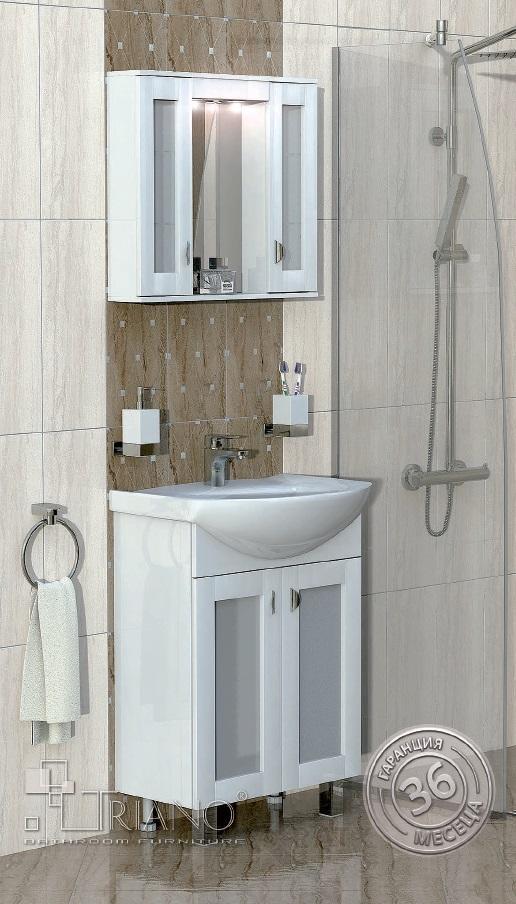 PVC шкаф за баня Елеганс 60 см.