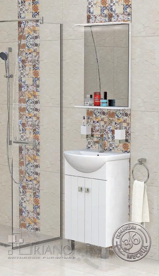 PVC шкаф за баня Хавана 50 см.