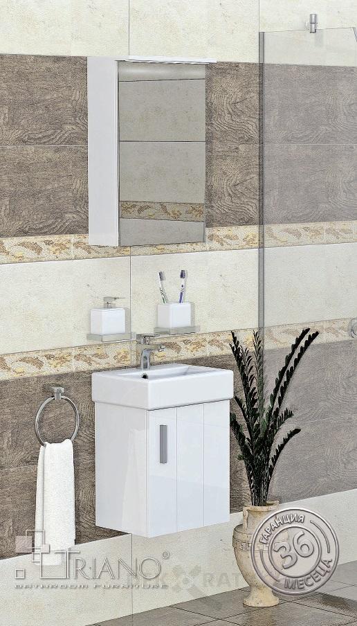 PVC шкаф за баня Литъл 38 см.