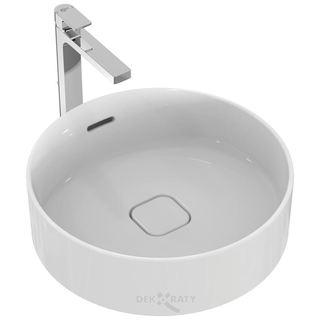 Кръгла мивка за монтаж върху плот  45 см. STRADA II T2961