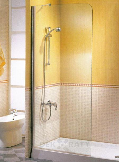 стационарен параван за баня