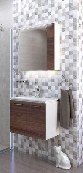 ПВЦ комплект шкафове за баня Манхатън