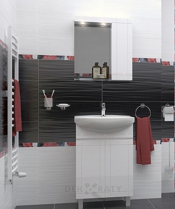 Комплект водоустойчив шкаф за баня Рила