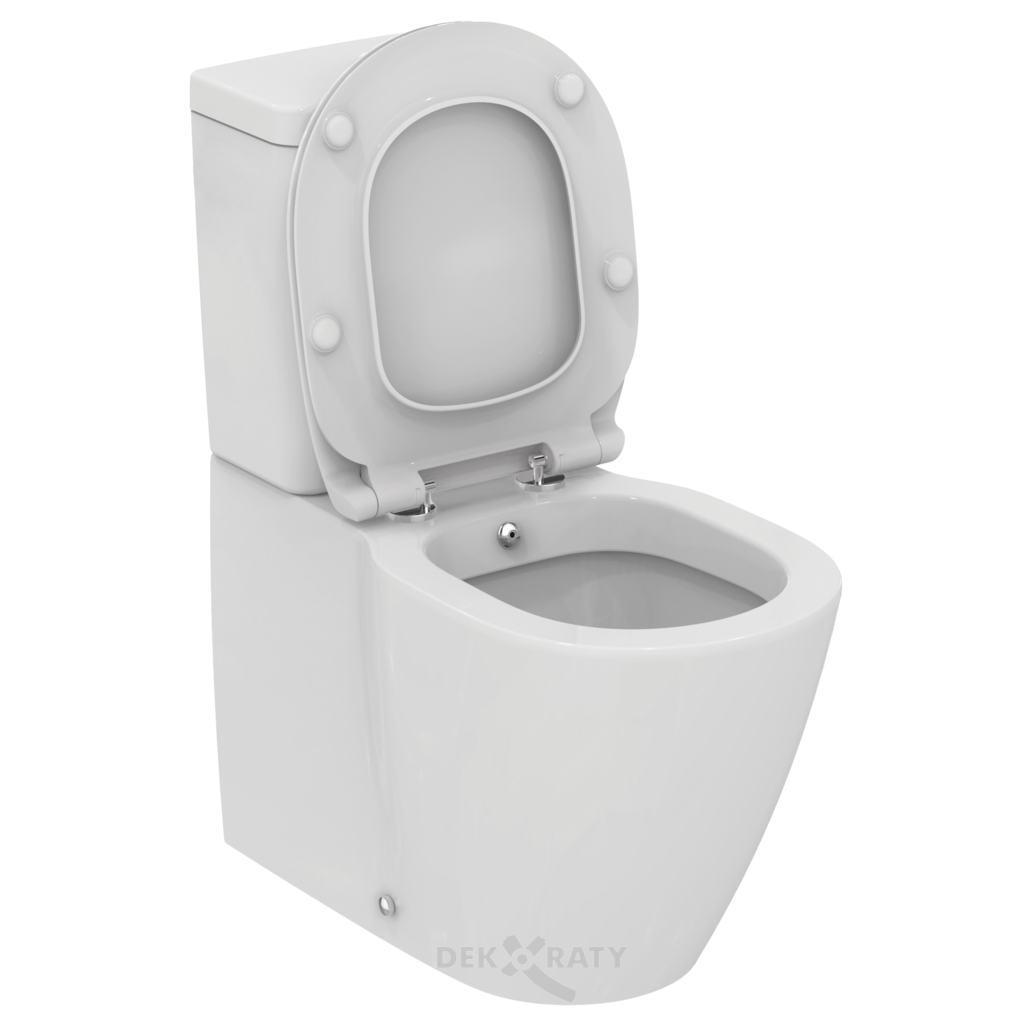 WC комплект с бидетна арматура CONNECT Cube
