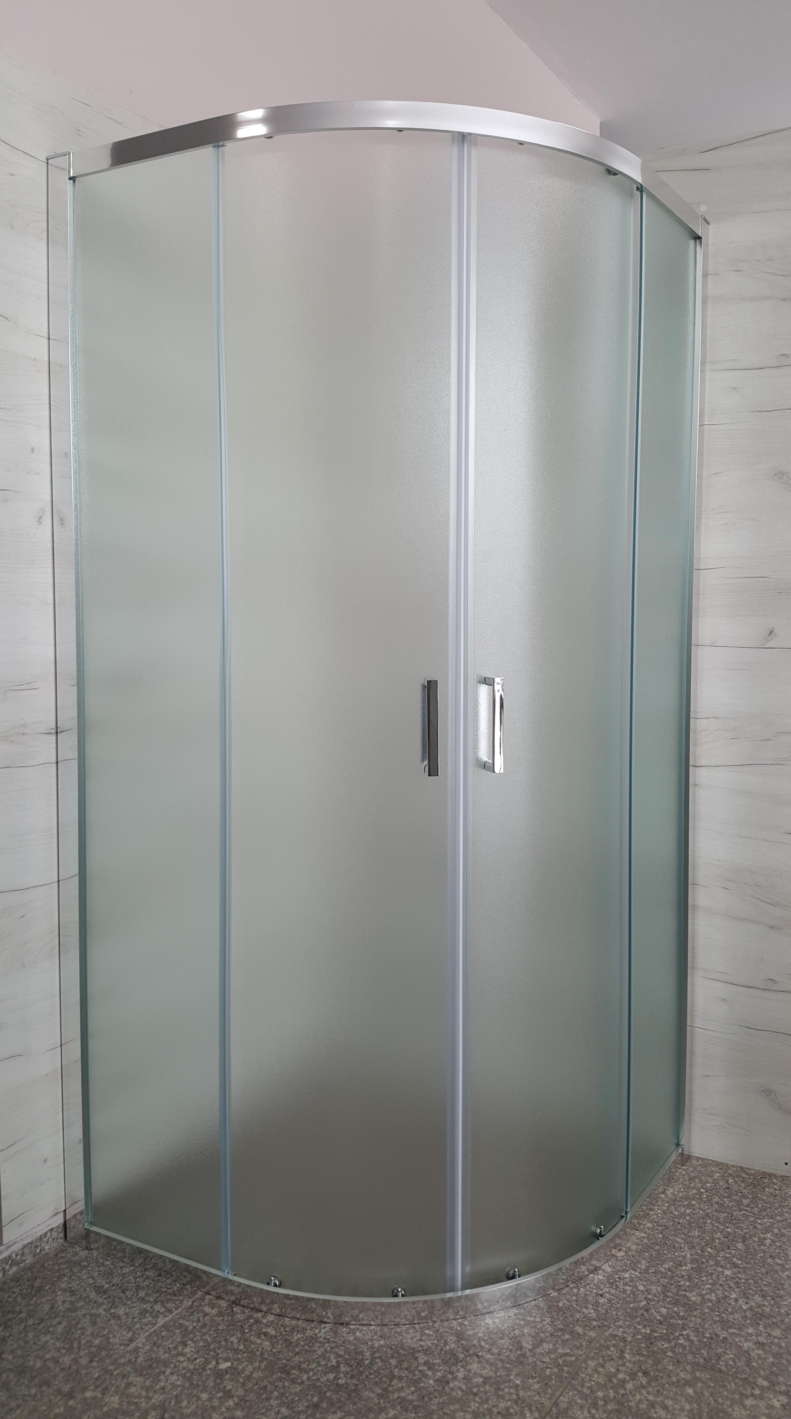 Душ кабина Изи 90/90см. мат стъкло