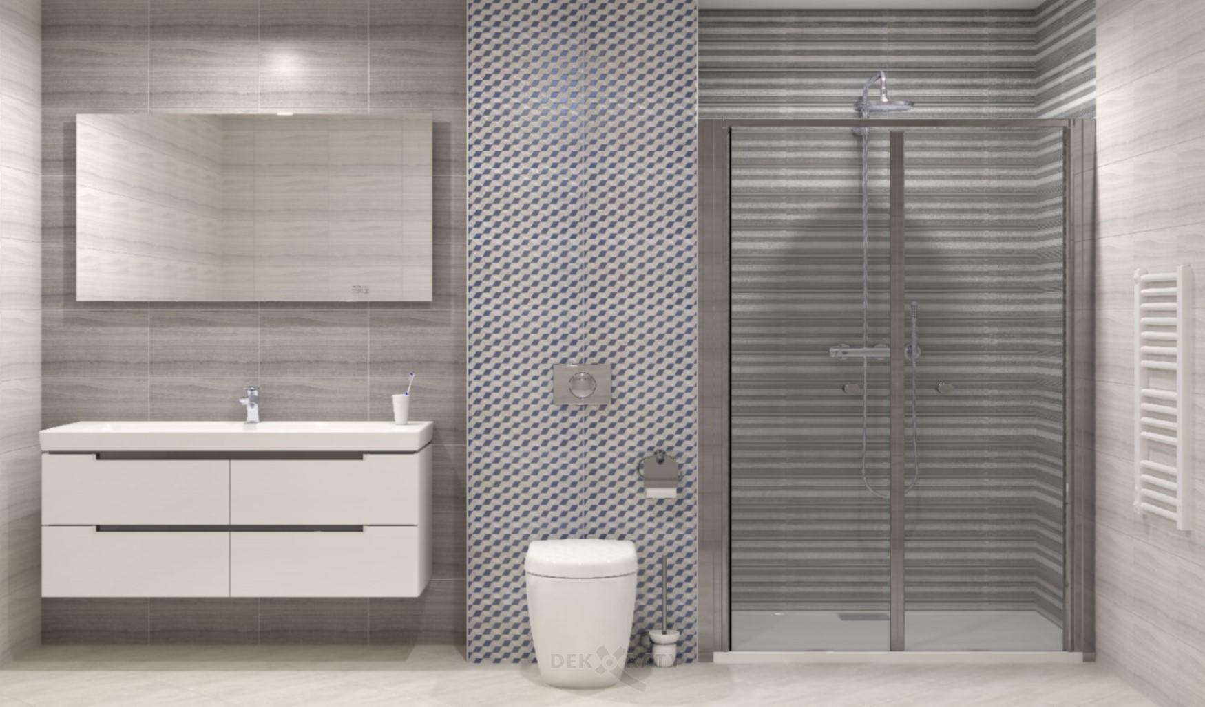 Плочки за баня Санторини