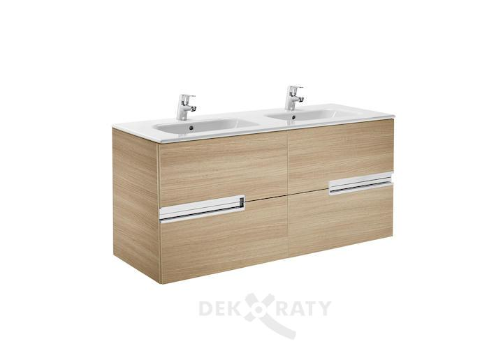 долен шкаф за баня с двоен умивалник рока
