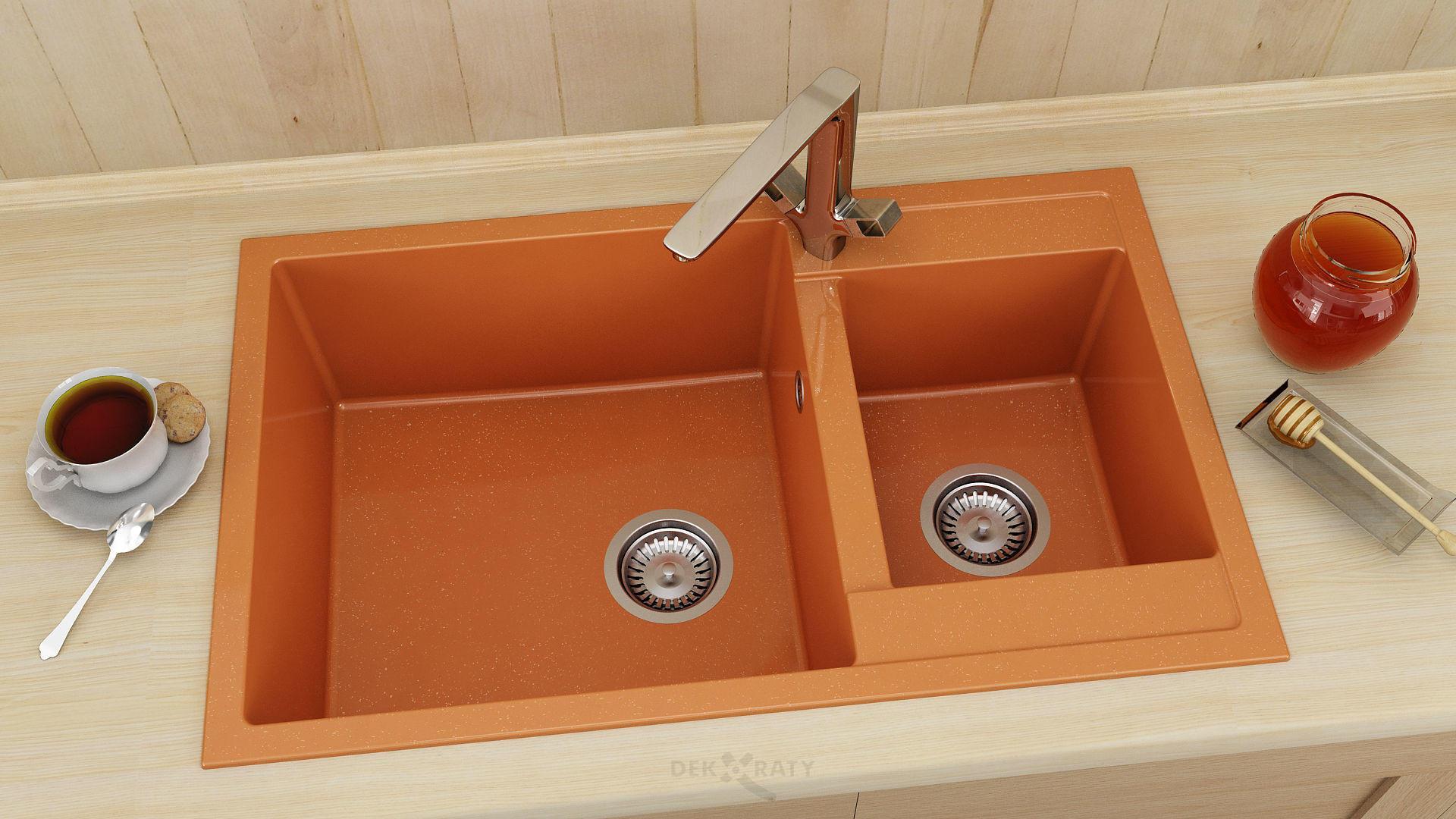 Кухненска мивка Фат 233 граниксит