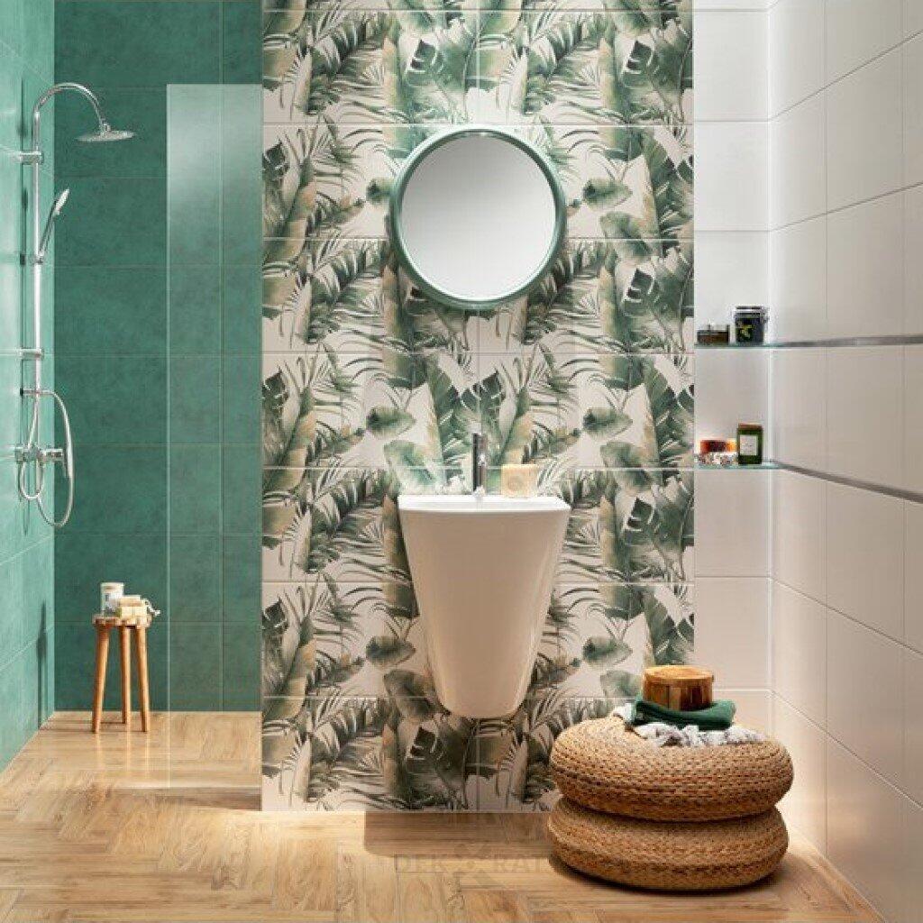 Плочки за баня серия Burano Green