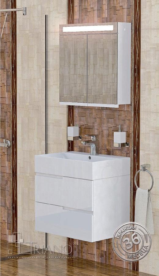 PVC шкаф за баня Виола 60см.