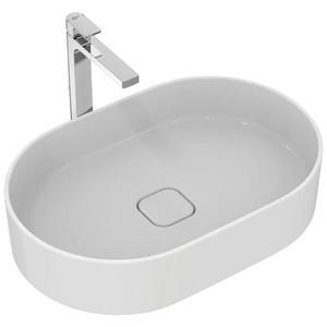 Овална мивка за монтаж върху плот  60 см. STRADA II T2981