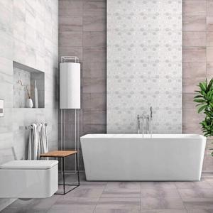 Плочки за баня Amberia Grey 25x40