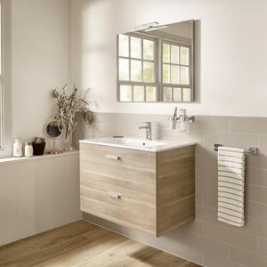 Комплект мебели за баня Victoria Basic в цвят бреза - 80 см.