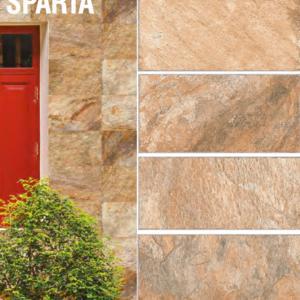 Гранитогрес Sparta brown 9368 30/60