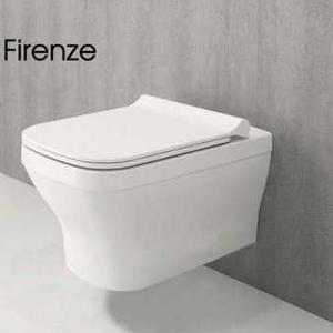 Конзолна тоалетна чиния с биде Firenze Rimless