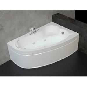 Хидромасажна асиметрична вана Оникс 140/90см. Стандарт Флат 10