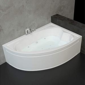 Хидромасажна двойна вана Оникс 160/110см. Стандарт Флат 12