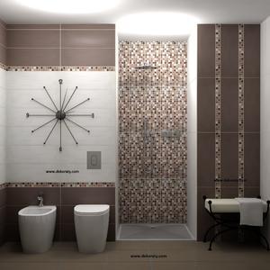 Плочки за баня Tucan Marron