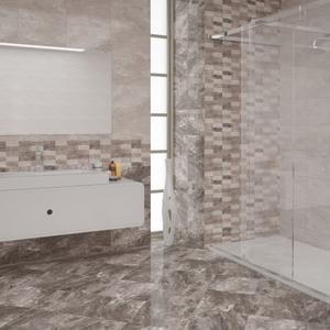 Плочки за баня Бернина сива