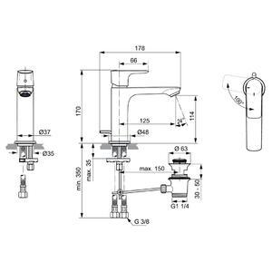 Схема на смесител  CONNECT AIR  A7013A2