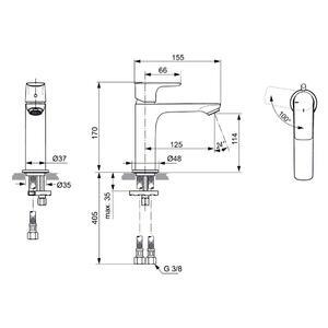 Схема на смесител CONNECT AIR  A7016A5