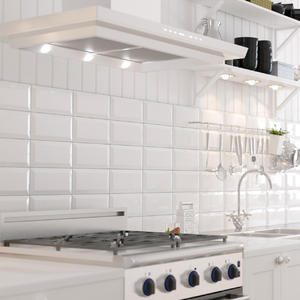 Плочки за кухня Metro бяла 10x20см.