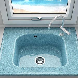 Кухненска мивка Фат 218 полимермрамор