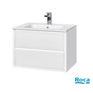 Шкаф за баня Rimini в бяло - 80см