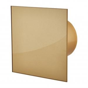 Вентилатор за баня квадрат с клапа- Злато 4765