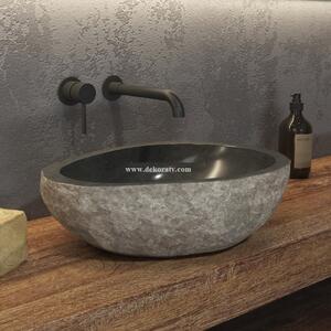 Мивка за баня River stone NRS3 grey