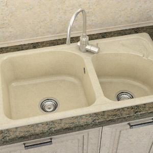Кухненска мивка Фат 204 полимермрамор