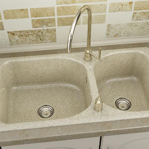 Кухненска мивка Фат полимермрамор 213