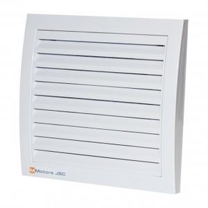 Вентилатор за баня квадрат решетка- Бял 1047
