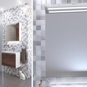 Шкафове за баня Манхатън - интериор