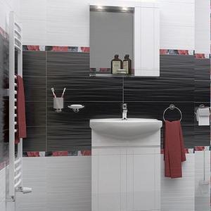 PVC комплект мебели за баня Рила
