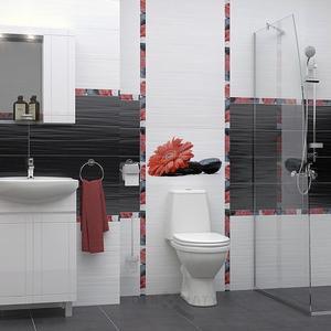 Обзавеждане за баня с шкаф Рила