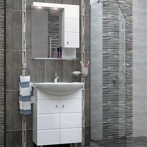 PVC комплект шкафове за баня Емона