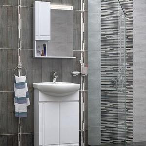 PVC комплект шкафове за баня Ирис