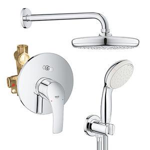 Душ комплект за вграждане с Eurosmart смесител за вана/душ