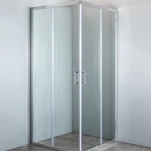 Квадратна душ кабина Изи 90/90 Прозрачно стъкло