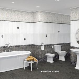 Серия за баня Habitat perla & grafito