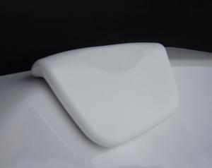 Възглавничка за вана вакуум бяла
