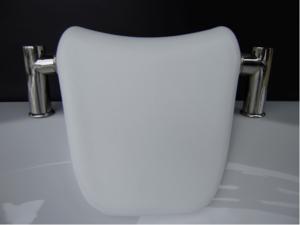 Възглавничка на стойка за вана бяла