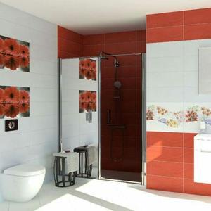 Плочки за баня Olas Rojo