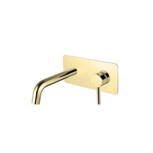 Illusion Gold - смесител за вграждане за мивка