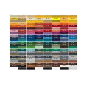 Цветове за шкафове по RAL