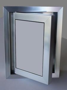 Ревизионна вратичка - Сиво стъкло